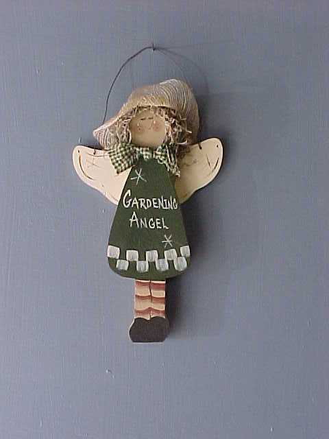 Angel, Handcrafted Wood