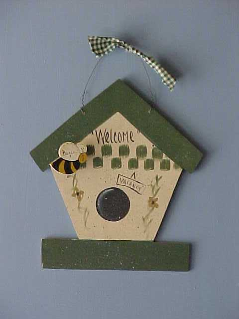 Handcrafted Wood Birdhouses