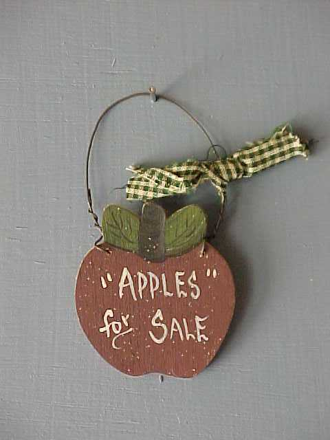Handcrafted Apple Wood Crafts, Home Decor, Kitchen Decor